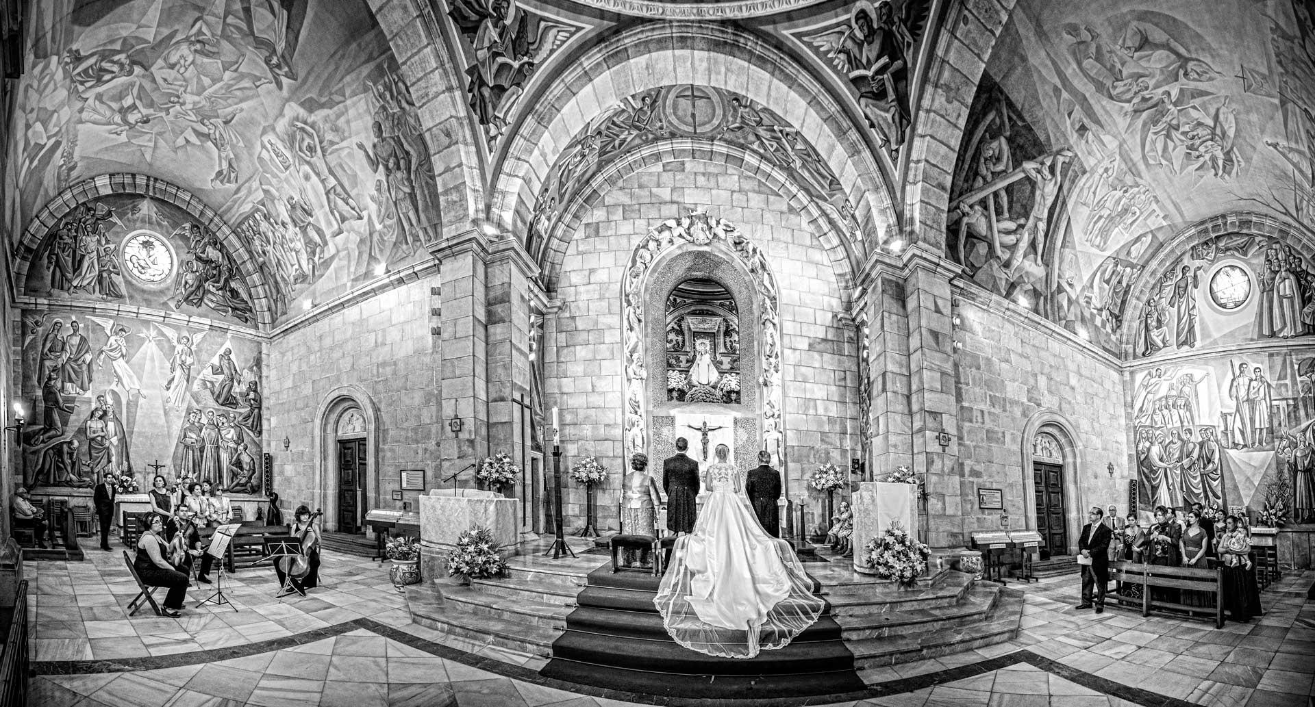 boda en santuario virgen de linarejos linares